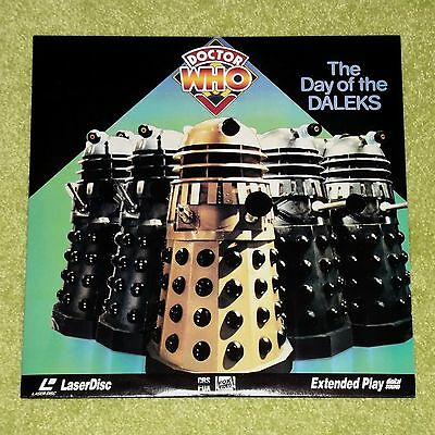DOCTOR WHO The Day Of The Daleks - RARE 1992 USA LASERDISC (Cat No. 5092-80) Dr.