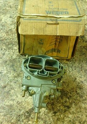 Classic Renault  Twin Chock  Carb/carburettor New Old Stock In Box Weber