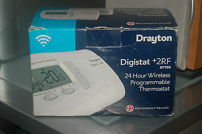 Drayton Digistat +2RF Wireless Programmable Thermostat