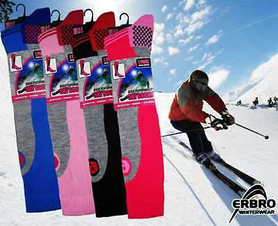 Ladies Long Hose High Performance Ski Boot Socks Snow Boarding Extream Weather