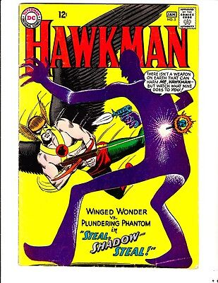 Hawkman 5 (1965): FREE to combine- in Very Good-  condition