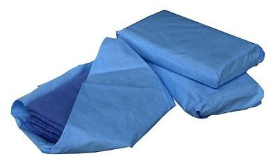 Sterile Disposable Surgical Towels Blue, 80 Count