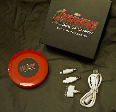 Marvel Comics Avengers. Portable USB Power Bank for iPhone iPad Smart phone etc