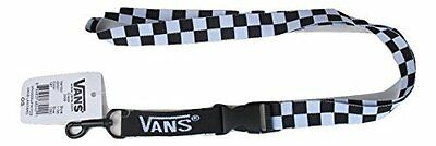 Vans Off The Wall Lanyard - Black/White Checker