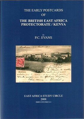 British East Africa/Kenya - The Early Postcards - Book - New!