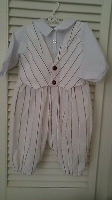Vintage Baby boy One Piece Suit Outfit~6-12 months