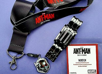 Marvel Comics Ant-Man. Binary Watch and Lanyard.