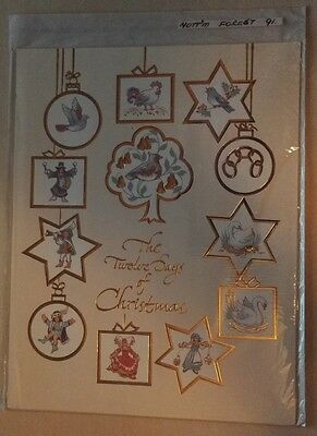 C1991 Nottingham Forest  Rare Vip Christmas Card Issued By The Football Club