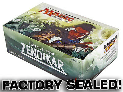 Battle for Zendikar Booster Box - Sealed - Magic the Gathering - Wizards 2016
