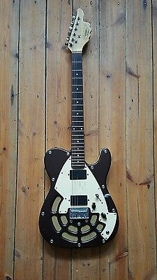 Lindert 'Thumbs Up' Guitar, Locomotive T - original USA model.
