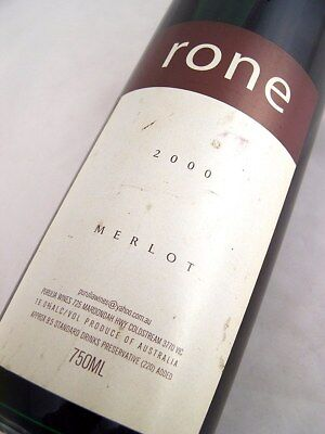 2000 PURULIA WINES Rone Merlot Isle of Wine