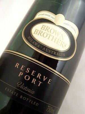 2004 circa NV BROWN BROTHERS Reserve Tawny Port Isle of Wine