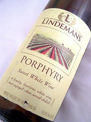 1999 circa NV LINDEMANS Porphyry White Blend C Isle of Wine