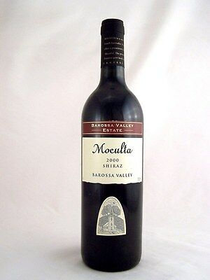 2000 BAROSSA VALLEY ESTATE Moculta Shiraz Isle of Wine