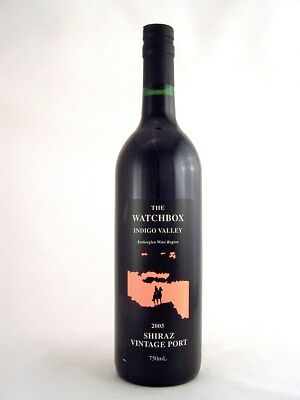 2005 THE WATCHBOX Shiraz Vintage Port Isle of Wine
