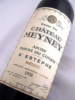 1958 CHATEAU MEYNEY Cru Bourgeois Exceptionnel Red Bordeaux B Isle of Wine