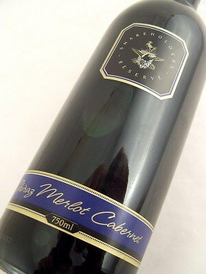 1997 WOLF BLASS Shareholder's Reserve Shiraz Merlot Cabernet B Isle of Wine