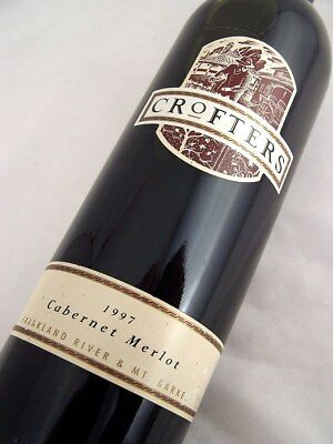 1997 HOUGHTON Winery Crofters Cabernet Merlot Isle of Wine