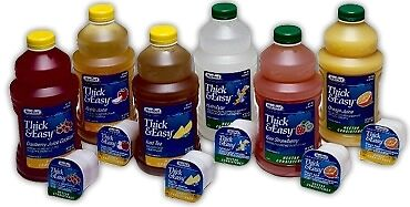 Thickened Water Thick & Easy Hydrolyte 4 oz. Portion Cup Lemon Ready to Use Hone