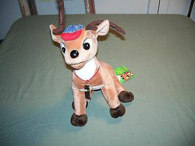 Comet Coach Reindeer from Rudolph Misfit Toys CVS 1999 with Tag 12 inch