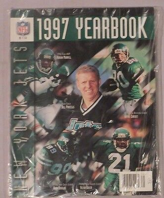 New York Jets Official 1997 Yearbook - Factory Sealed