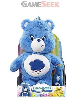 Care Bears Grumpy Bear Plush With Dvd - Soft Toys Brand New Free Delivery