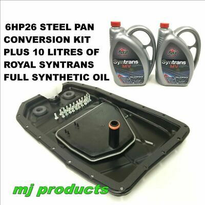 ford (non genuine) ZF 6HP26 6 Spd  Steel pan Conversion kit + 10 litres of oil