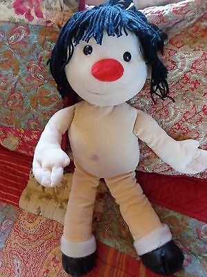 """JUMBO 27"""" Molly PLUSH Rag DOLL From THE Big COMFY Couch LARGE 1995 COMMONWEALTH"""