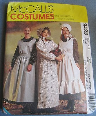 Misses Pioneer Costume Uncut McCalls Pattern From '98 Sizes 8 to 10