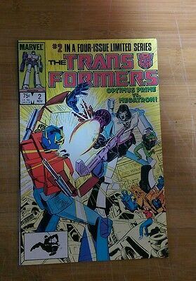 The Transformers #2 marvel high grade