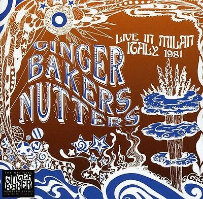 Live In Milan 1981 - 2 DISC SET - Ginger Nutters Baker (2011, CD NEUF)