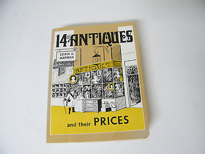 Vintage 1978 Warman's Fourteenth Antiques & Their Price Guide
