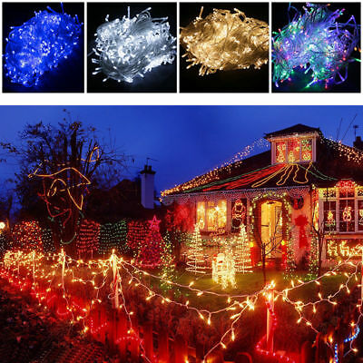 30m/100m/200m Fairy String Lights Lamp Led Christmas Party Garden Outdoor AU New