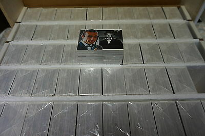 James Bond Heroes and Villains 50 sets of 81 cards issued 2010