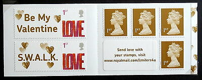GB 2007 - Love type of 2005, Booklet of 5
