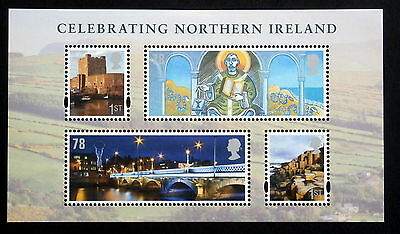 GB 2008 - Heritage of Northern Ireland Sheet of 4