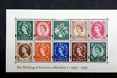 GB - 2002, Scott #2023a, Mint - Booklet pane of 9 + label Queen types
