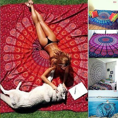 Twin Hippie Tapestry Wall Hanging Indian Mandala Tapestries Bedspread Wall Decor