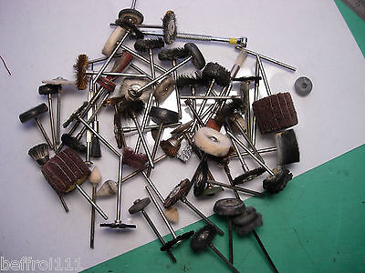 Lot  outil polissage toile perceuse moteur suspendu Watchmaker Jewelling tool 3