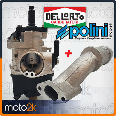 Kit Modifica Carburatore Dellorto Phbl 24 As Collettore Polini Vespa 50 Special