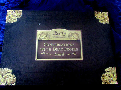 Buffy the Vampire Slayer CONVERSATIONS WITH DEAD PEOPLE BOARD. Ouija RARE OOP