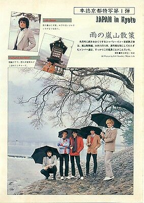 Japan / David Sylvian In Japan - Clippings Japanese Magazine Music Life 5/81