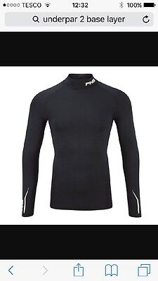 Ping golf under layer top.- long sleeve - black