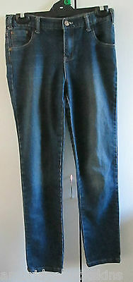 Children Denim Shock Resistant Jeans Size 14 Cotton Blend Stretch Designed fade