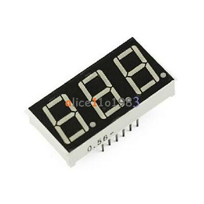 10PCS 0.56 inch 3 digit Red Led display 7 segment Common Cathode New