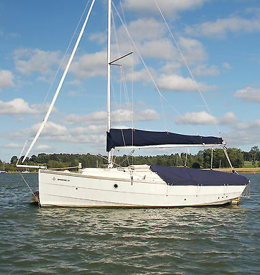 Cornish Adventure 19 by Cornish Crabbers LLP in 2014 and little used.