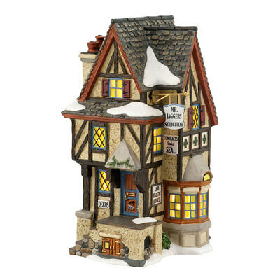 Department 56 Dickens Village 4036508 Hampshire Solicitor Retired