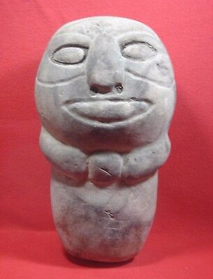South East Asian Carved Stone Ancient Malay Culture, Circa 500Bc-1Ad,  9 Inches