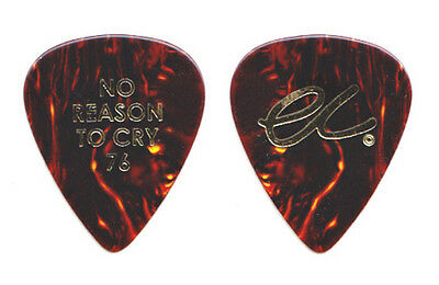 Eric Clapton Brown Guitar Pick - No Reason To Cry 76