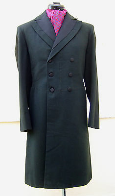 """Vintage Worcester Victorian Edwardian Frock Coat - Small - Goth Steampunk 30-32"""""""
